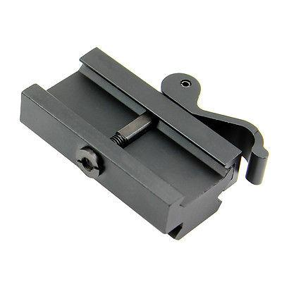"Quick .5"" Profile Riser QR Block Mount Picatinny / Weaver"