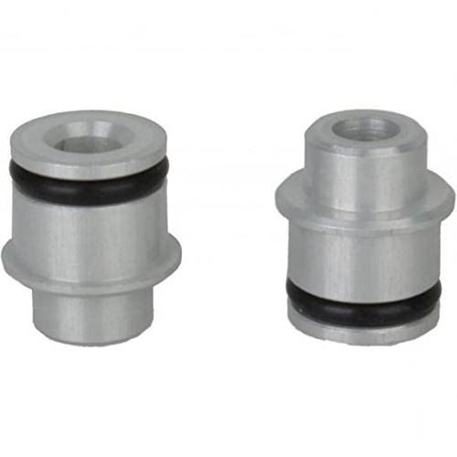 quick release axle adapters silver
