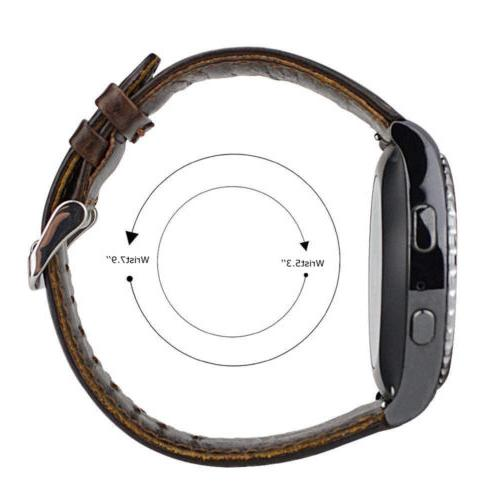 Quick Release Genuine Watch Band 20 22mm Brown Strap