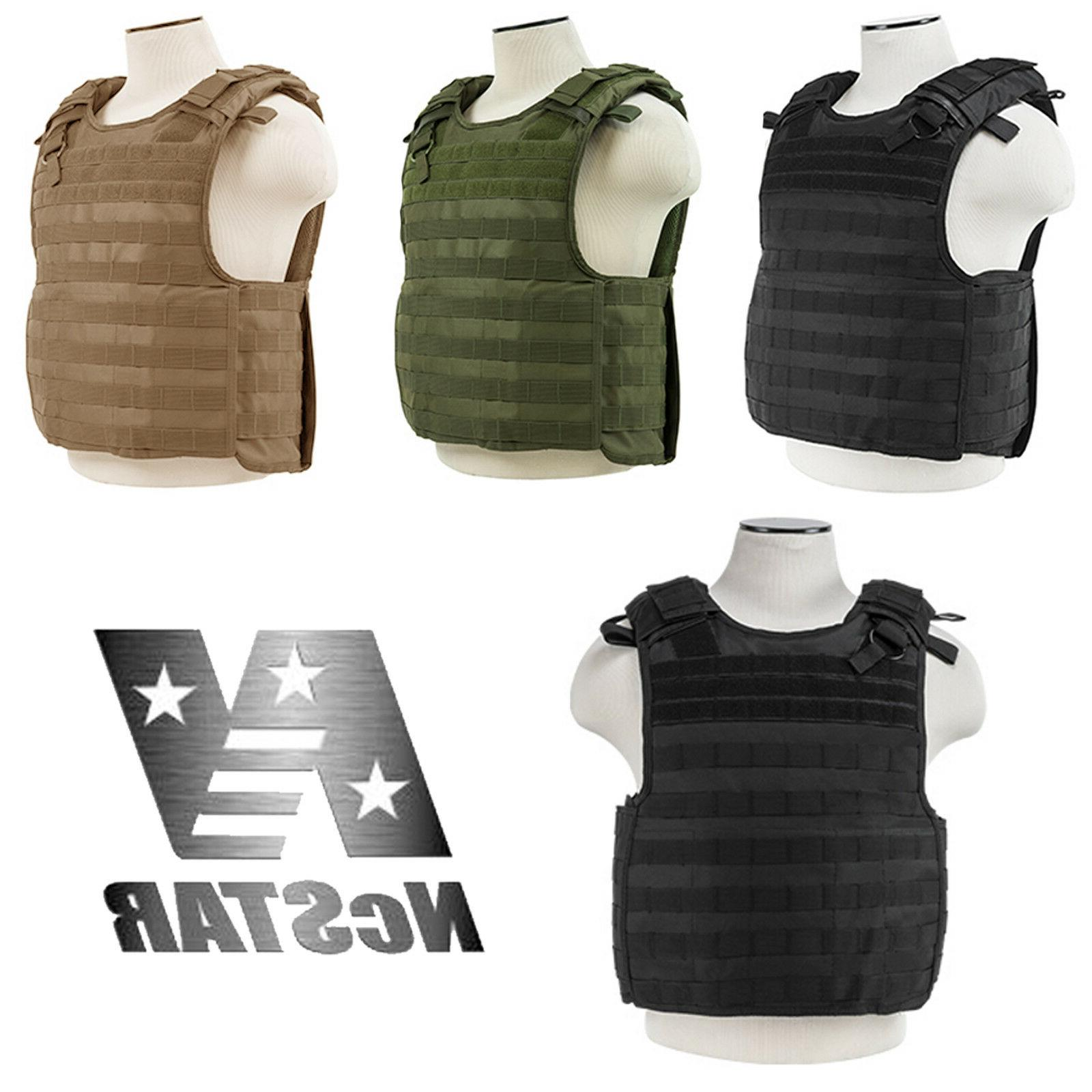 quick release level iii operator molle plate