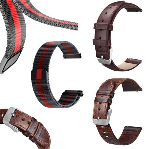 quick release pin milanese loop watch band