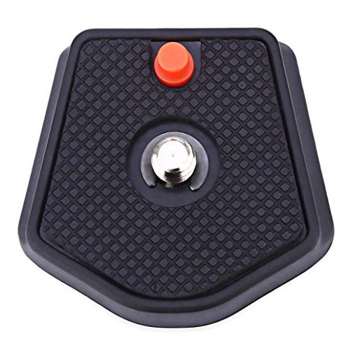 Braceus Quick Release Plate 1/4 Inch Manfrotto
