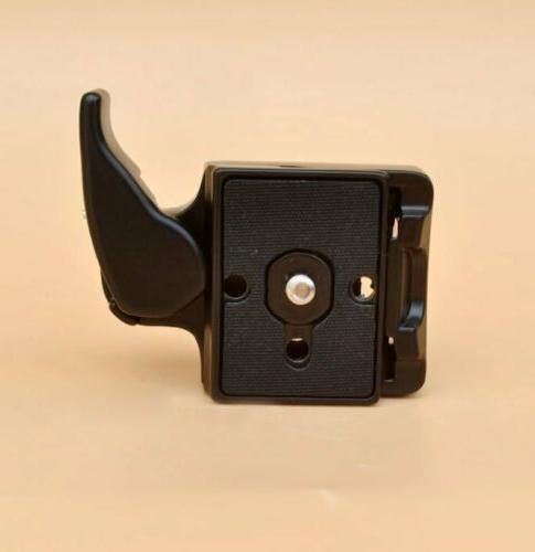Quick Release & Clamp Adapter for Manfrotto 200PL-14 Camera 323 RC2