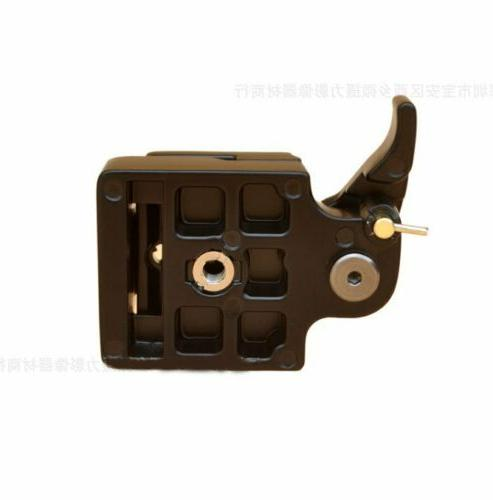 Quick Plate Clamp Adapter 200PL-14 Tripod Camera 323 RC2