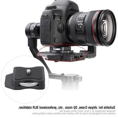 quick release plate gimbal increased pad