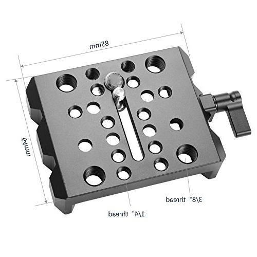 SMALLRIG Quick Release Set, Dovetail ARRI Clamp - 1723