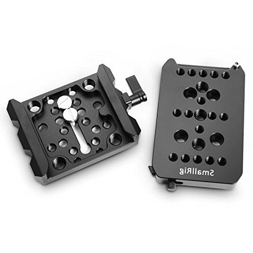 SMALLRIG Quick Plate Set, ARRI Plate Clamp -