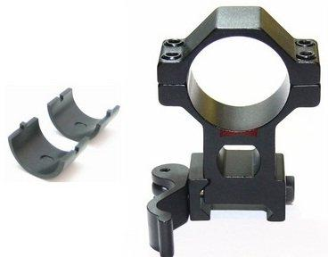 30mm to Quick Release High Riflescope QD Mount Ring
