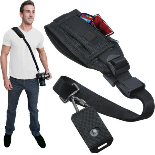 quick release shoulder strap