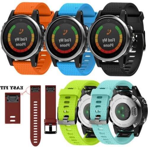 Quick Silicone Band For Garmin 5 5X 5S