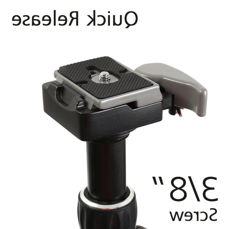 Camera Quick Release Plate Adapter Tripod