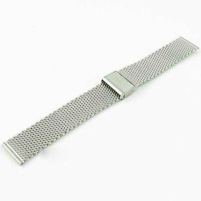 Quick Stainless Steel Mesh Strap Band 18 20 22