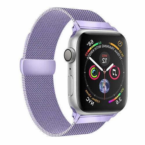 Quick Stainless Steel Milanese Loop for Watch Band Series 3, 2,