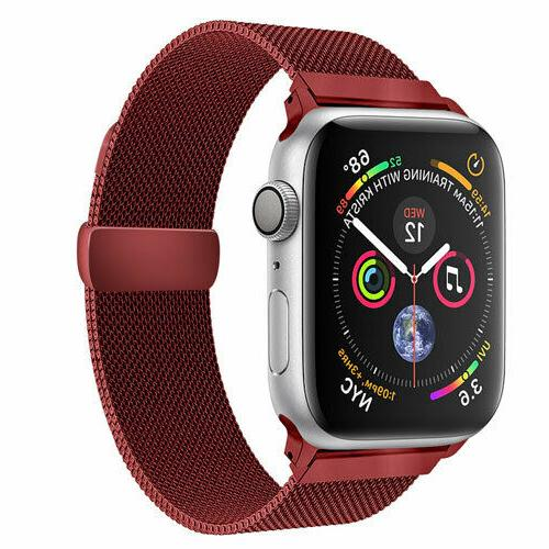 Quick Release Milanese Loop Watch Band Series 4, 3,