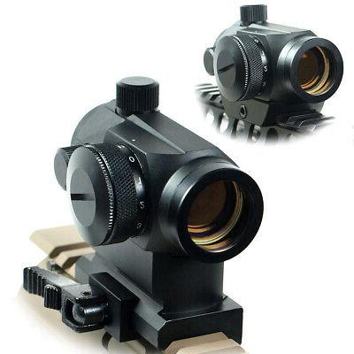 Quick Release Tactical Reflex Red Green Dot Sight Scope with