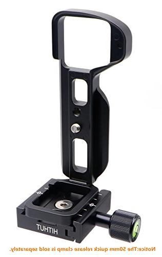 HITHUT Release Plate L-Shaped Hand Grip with and Hex for SONY