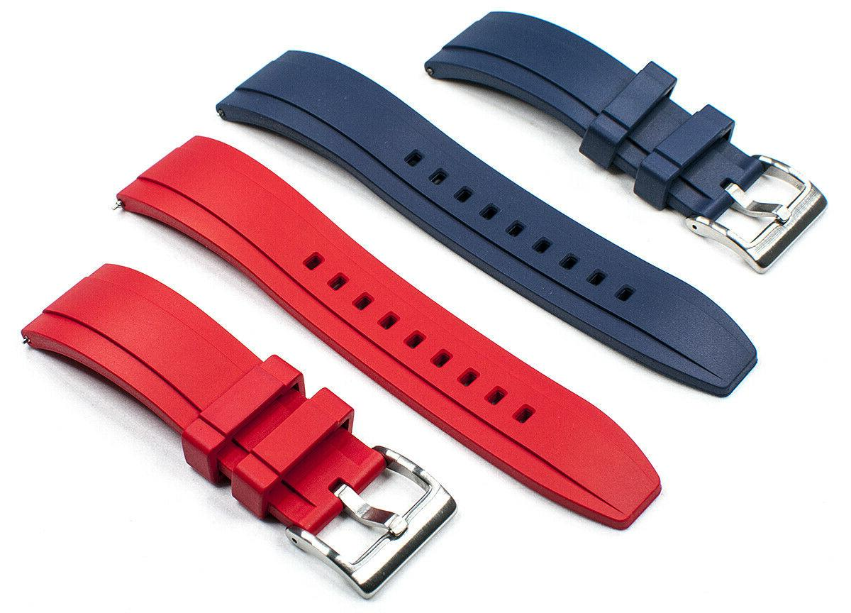 Real Dive Watch Band FKM Curved