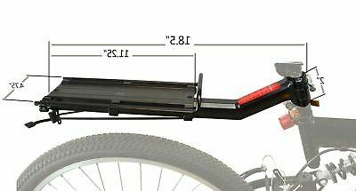 Lumintrail Bike Rack Bicycle Commuter Carrier Universal Quick