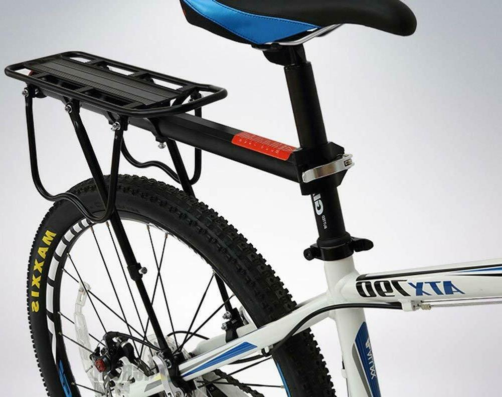 rear bike rack bicycle cargo quick release