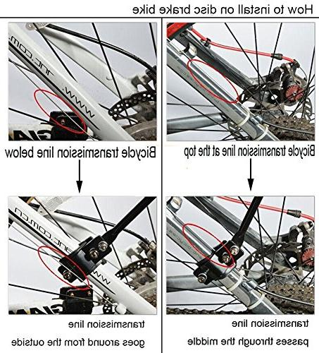 Dirza Rear Rack Bicycle Cargo Rack Release Carrier 115 Easy Black
