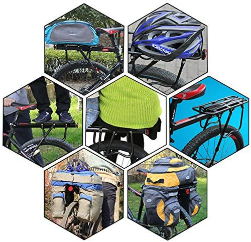 Dirza Rear Bicycle Release Adjustable Alloy Carrier 115 Easy Install