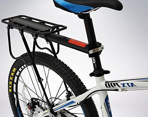Bicycle Cargo Release Alloy Carrier 115 Lb Easy to Install