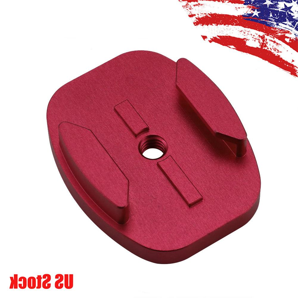 red cnc quick release flat surface base