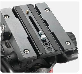 Set 2 Quick Release Plate The Manfrotto MVK502AM, MVH502A,546BK-1, 504HD,536K,