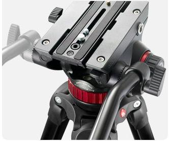 Set Replacement Quick Release The Manfrotto MVH502AH, MVK502AM, 504HD,546BK, 504HD,536K, 504HD,546GBK