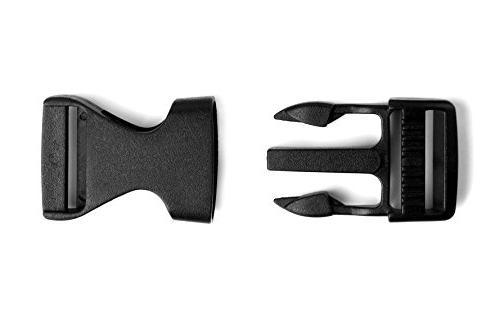 "Tayeel Pack 0.75"" Side Release Buckles Adjustable"