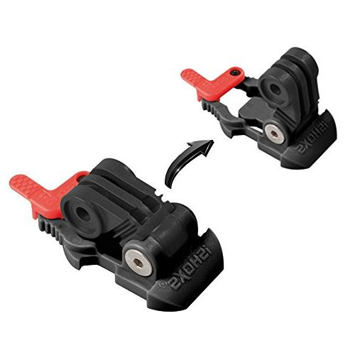 iSHOXS Pro - Adjustable clip for GoPro Session, Hero - with iSHOXS Thumb-Screw