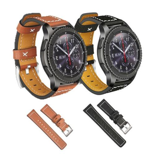 sport quick release leather watch band wrist