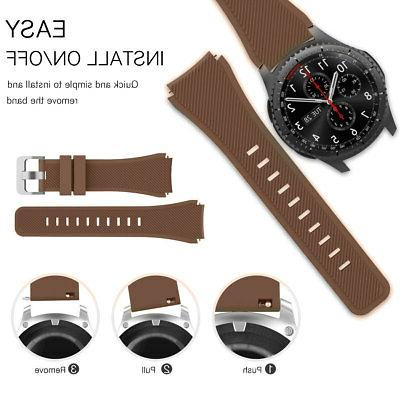 Sport Watch Band Strap Quick-Release For Samsung Gear