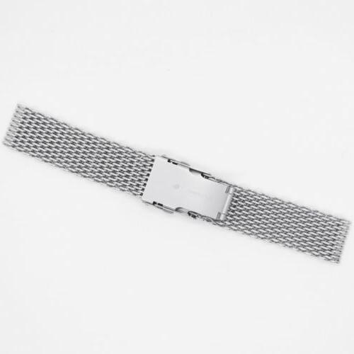 Men Watch Band Wrist Stainless Quick Strap