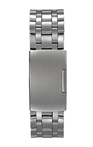 Pebble Metal Watchband Brushed