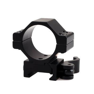 2PCS 25mm 1 Inch Steel Quick Scope Rings for Rail Scope