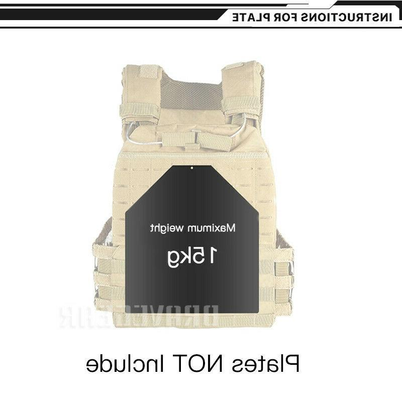 Tactical Plate Carrier Molle Fast Quick Release