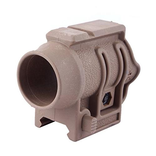 tactical flh quick release flashlight