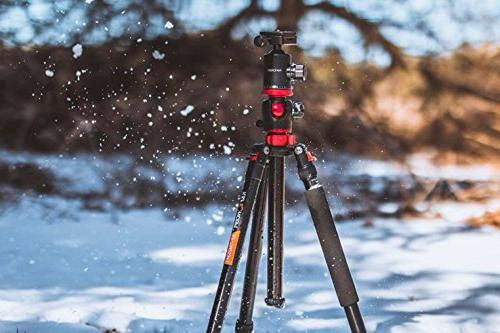 K&F Camera Tripod 66 Portable Magnesium 4 Section Professional with 360 Degree Head Quick Compatible with Sony