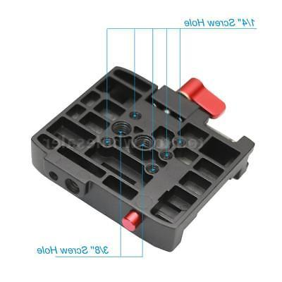 QR Plate for Manfrotto 501 503HDV Q5