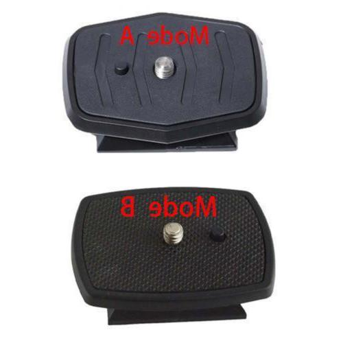 Tripod Release Plate Screw Adapter For SLR Camera