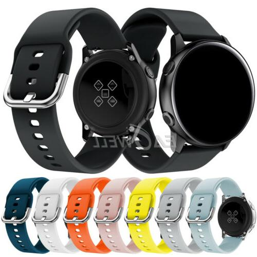Universal 20mm Quick Release Sports Silicone Watch Band Repl