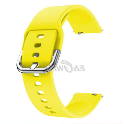 Universal 20mm Sports Silicone Watch