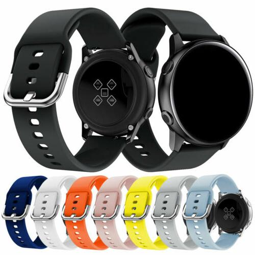 universal 20mm quick release sports silicone watch