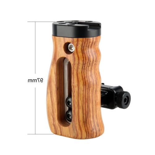 Niceyrig Universal Quick Release Wooden NATO Side Handle Cold