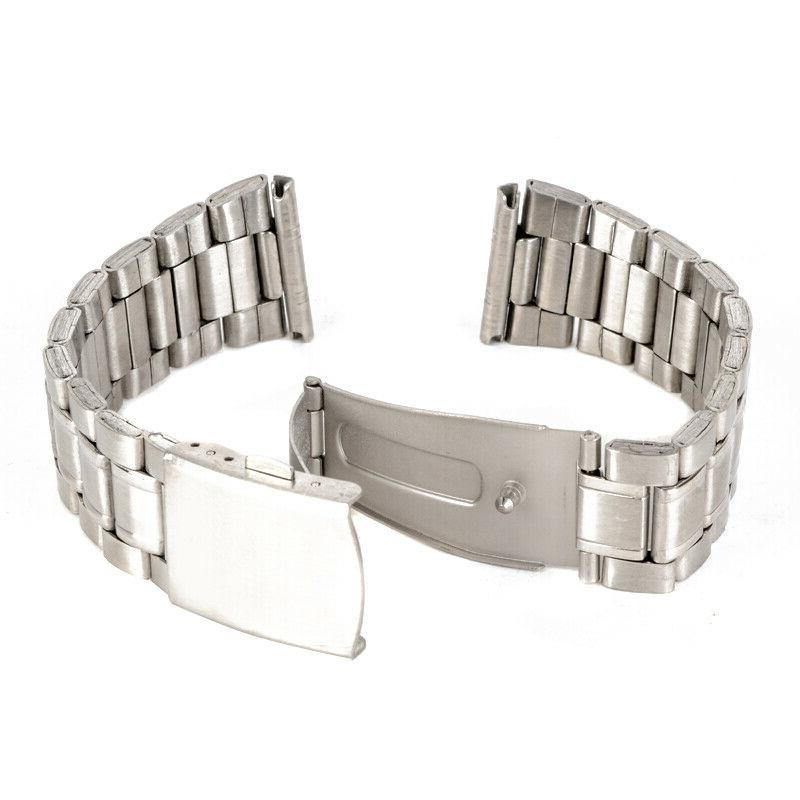Universal Stainless Steel Strap 14/16/18/20/22mm