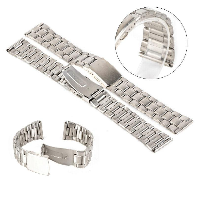 Universal Wrist Watch Band Stainless Steel Quick Release Str