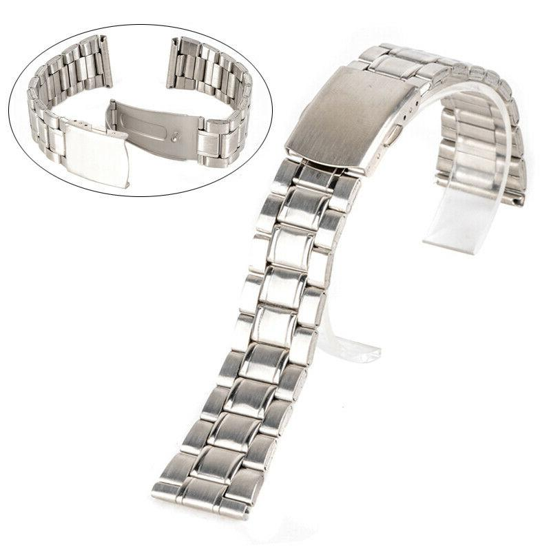 Universal Watch Band Stainless Steel Release Strap