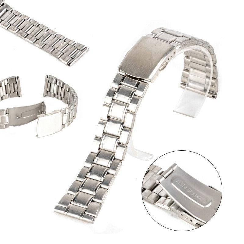 universal wrist watch band stainless steel quick