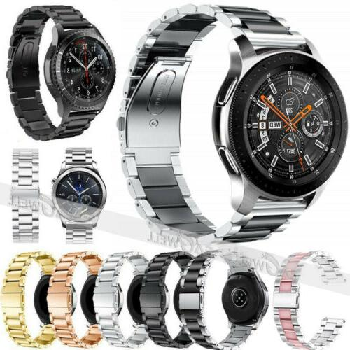usa stainless steel link strap metal watch